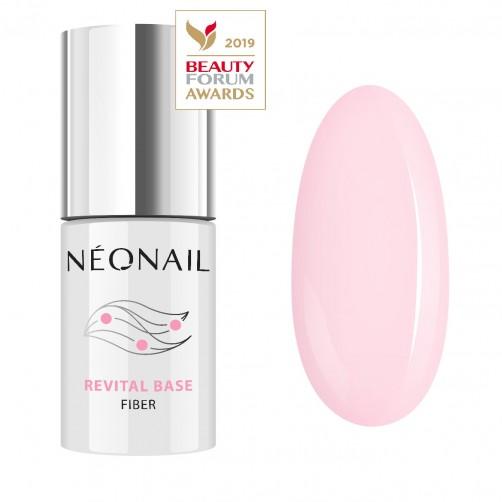 UV Gel Lak 7,2 ml - Revital Base Fiber Rosy Blush