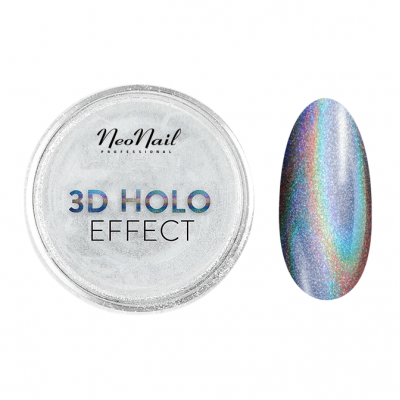 3D HOLO Effect-Silver