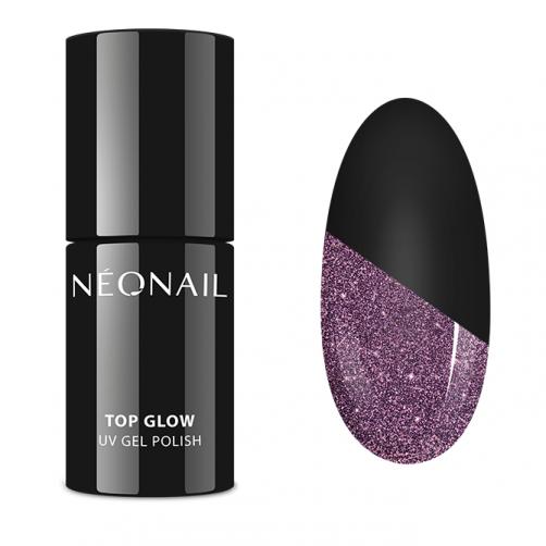 UV Gel Lak 7,2 ml - Top Glow Sparkling